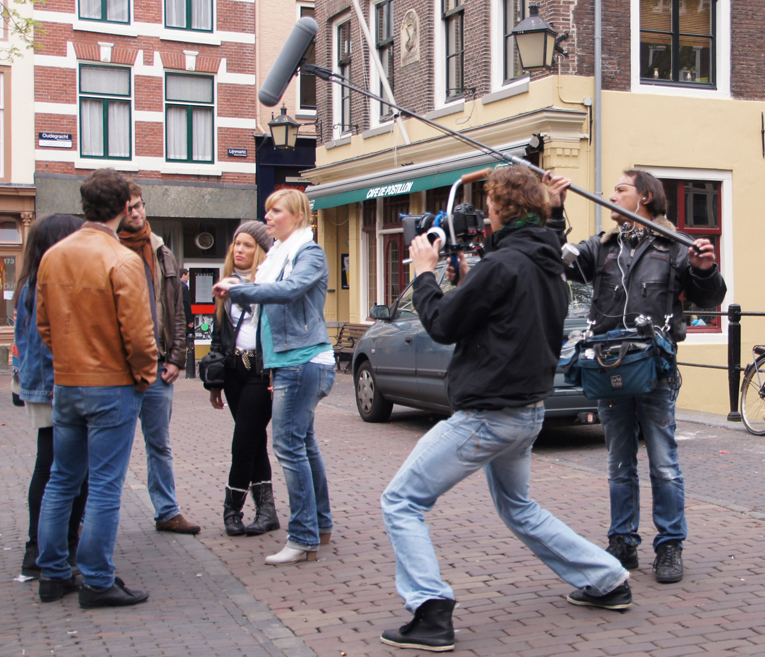 Filming for TV program Welcome to Youtrecht